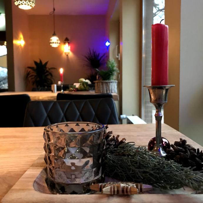Kerze Tisch