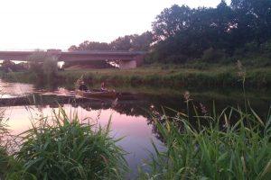 Uwe & Niki beim paddeln